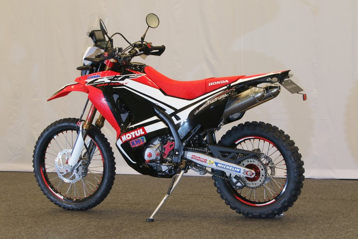 Honda Dual Sport Lineup >> Honda CRF250 Rally Edging Closer to Production - 2017 the Big Year? - Osaka Motorcycle Show ...