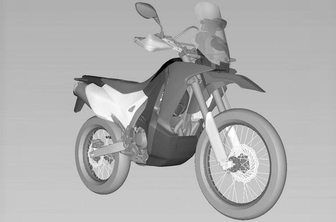 honda crf rally edging closer  production   big year osaka motorcycle show