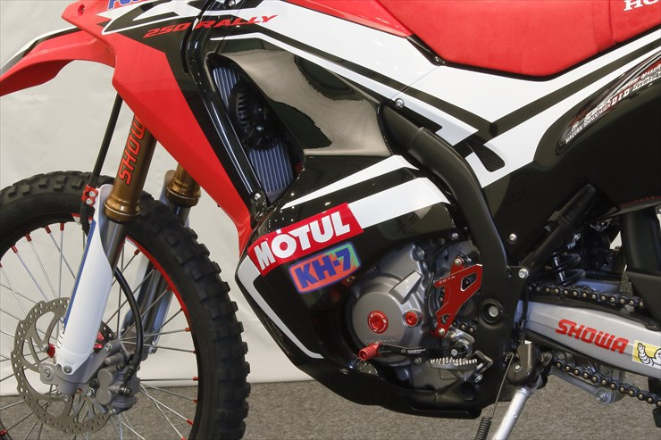 Honda CRF250 Rally Edging Closer to Production - 2017 the Big Year? - Osaka Motorcycle Show ...