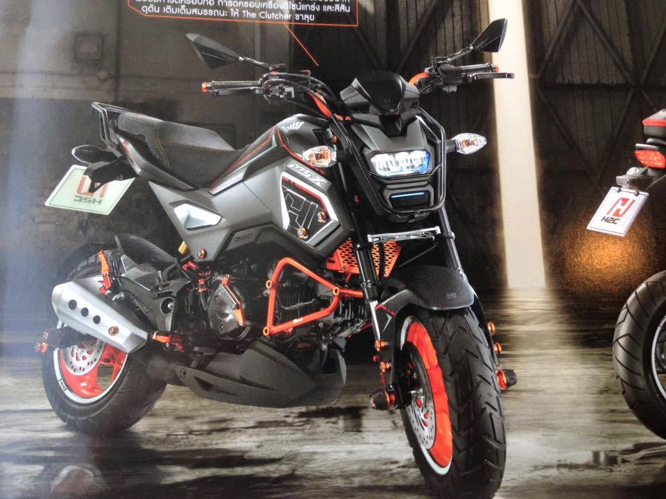 2016 honda msx125 review specs grom changes coming to. Black Bedroom Furniture Sets. Home Design Ideas
