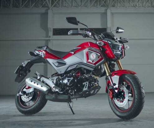 2018 honda grom review specs new changes to the 125 cc. Black Bedroom Furniture Sets. Home Design Ideas
