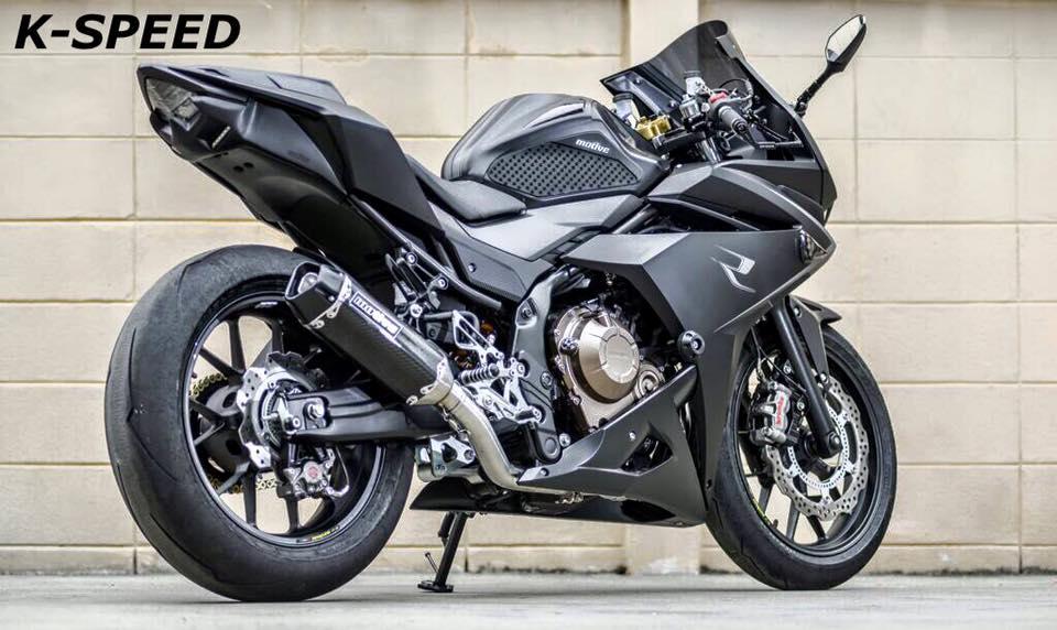 Custom 2016 2017 Honda Cbr500r Cbr Sport Bike Motorcycle Photo