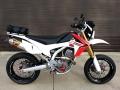 Custom Honda CRF250 Motard / SuperMoto CRF250M / CRF 250 CRF250L Dirt Bike with Street Wheels & Tires