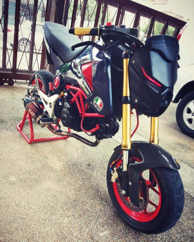 Custom Honda Grom 125 Msx Headlight Motorcycle Tn