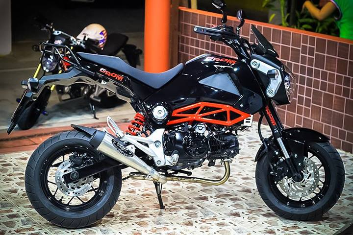200 custom honda grom msx125 pictures photo gallery. Black Bedroom Furniture Sets. Home Design Ideas