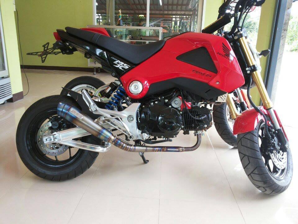 200 Custom Honda Grom Msx125 Pictures Photo Gallery