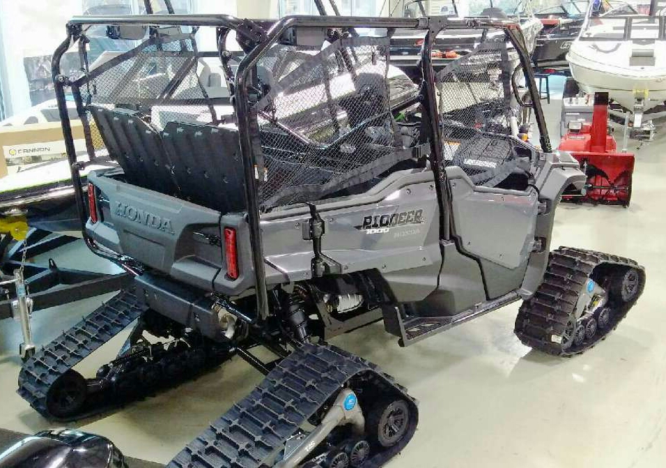 2016 Honda Pioneer 1000 5 Tracks Tires Custom Side By Side Atv