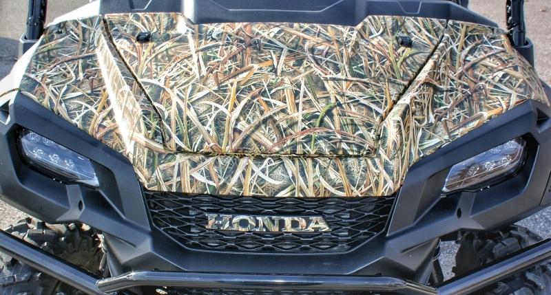 Custom Honda Pioneer 1000 5 Camo Wrap Mossy Oak