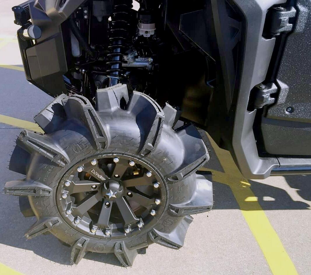 Custom Honda Pioneer 1000 Lifted Mud Tires & Wheels - Side by Side ATV ...