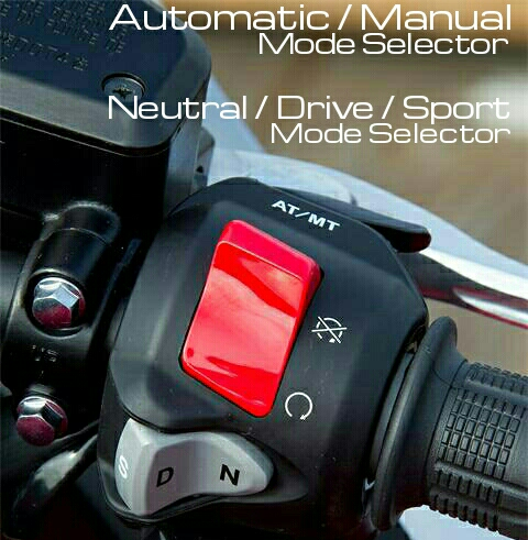2016 Honda DCT Automatic Motorcycle Review / Controls - Model Lineup