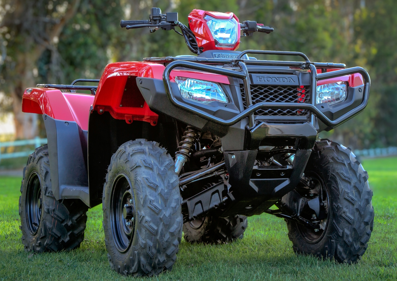 honda rubicon  dct atv review specs  trxfa
