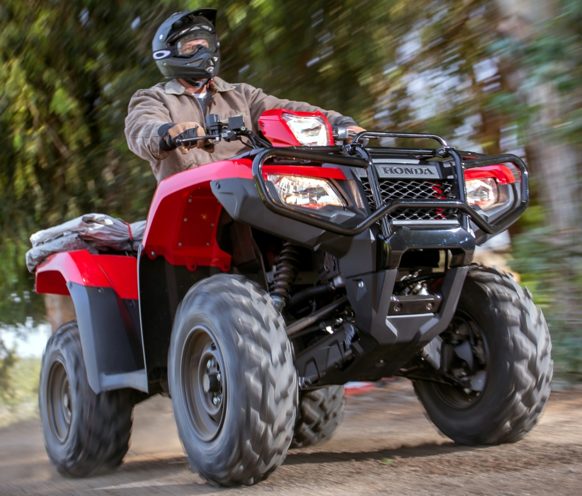 2018 honda rubicon 500 dct atv review of specs features. Black Bedroom Furniture Sets. Home Design Ideas