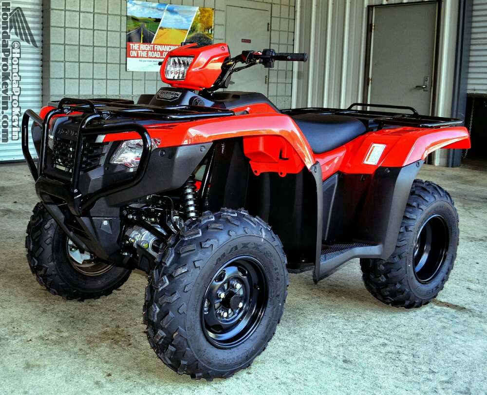 2018 Honda Foreman 500 ATV Review / Specs - FourTrax TRX500 Utility 4x4  Four Wheeler -