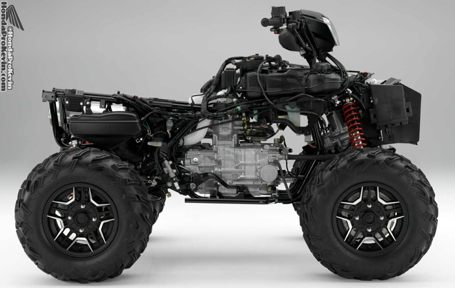 2016 Honda Foreman Vs Rubicon Atv Differences