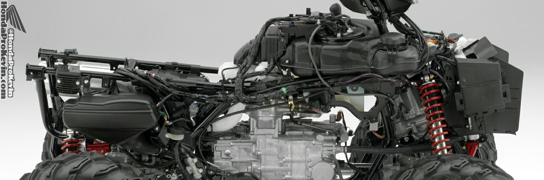 Honda Foreman Rubicon 500 ATV Review / Specs / IRS / DCT / TRX520 Horsepower & Torque Performance Rating