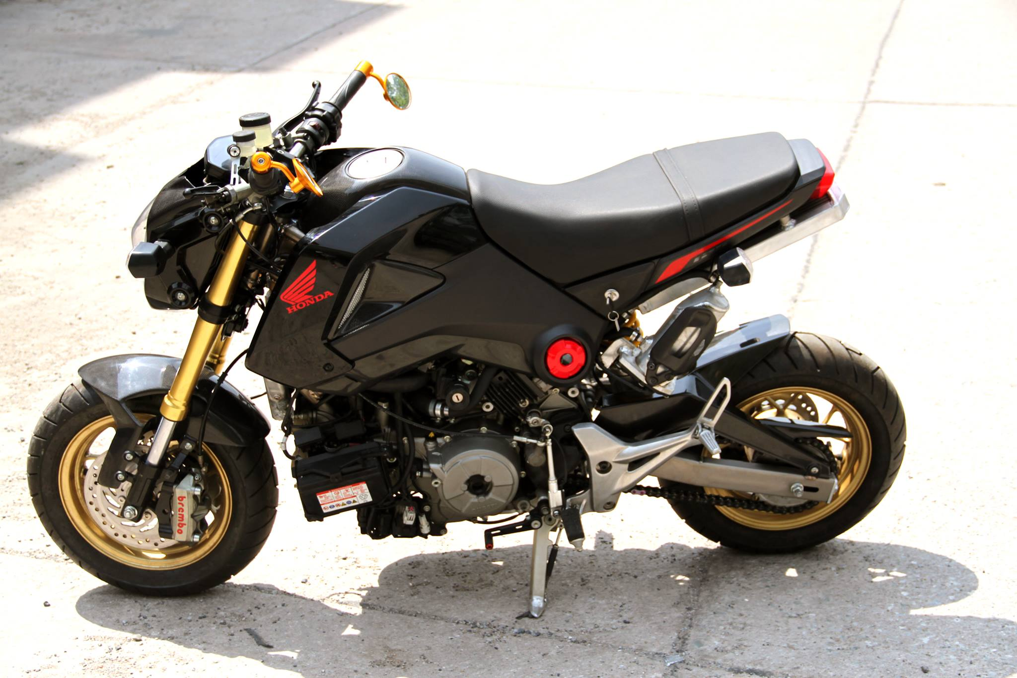 honda grom msx ducati panigale engine swap insane honda pro kevin. Black Bedroom Furniture Sets. Home Design Ideas