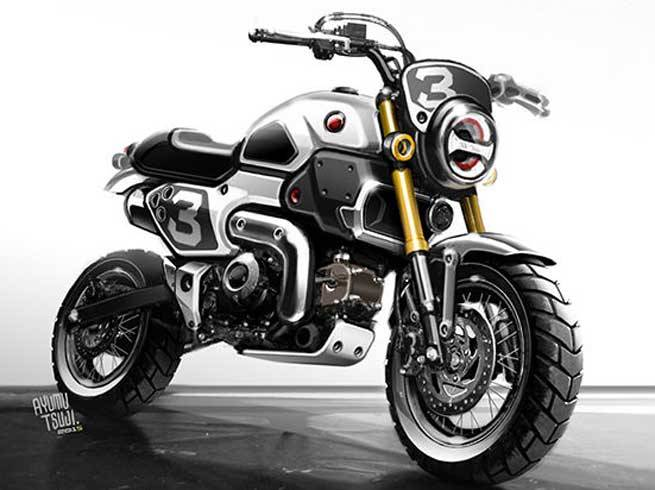 ... Honda Grom Scrambler Concept One & Two | Motorcycle Pictures | Honda