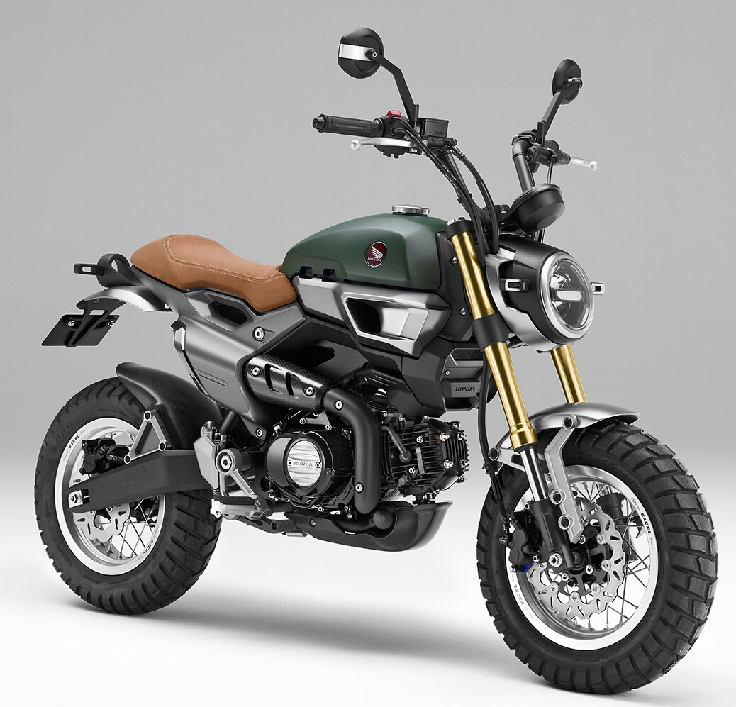 custom honda grom scrambler concept one two motorcycle pictures honda pro kevin. Black Bedroom Furniture Sets. Home Design Ideas