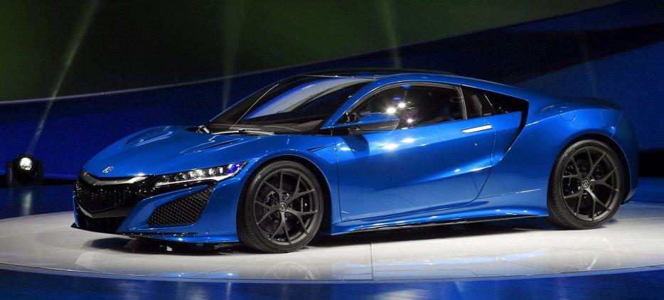 Parent Directory · 2016 Honda Nsx Acura Blue Super Car Hybrid Sport  ...