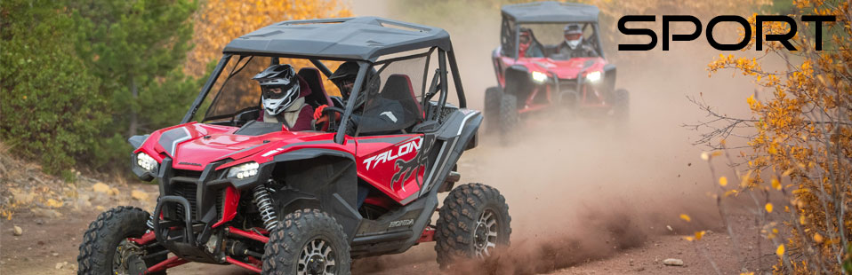 Honda TALON 1000 Sport SxS Models / Lineup Review & Specs: 1000R and 1000X | Sport SxS / UTV / Side by Side ATV / Utility Vehicle