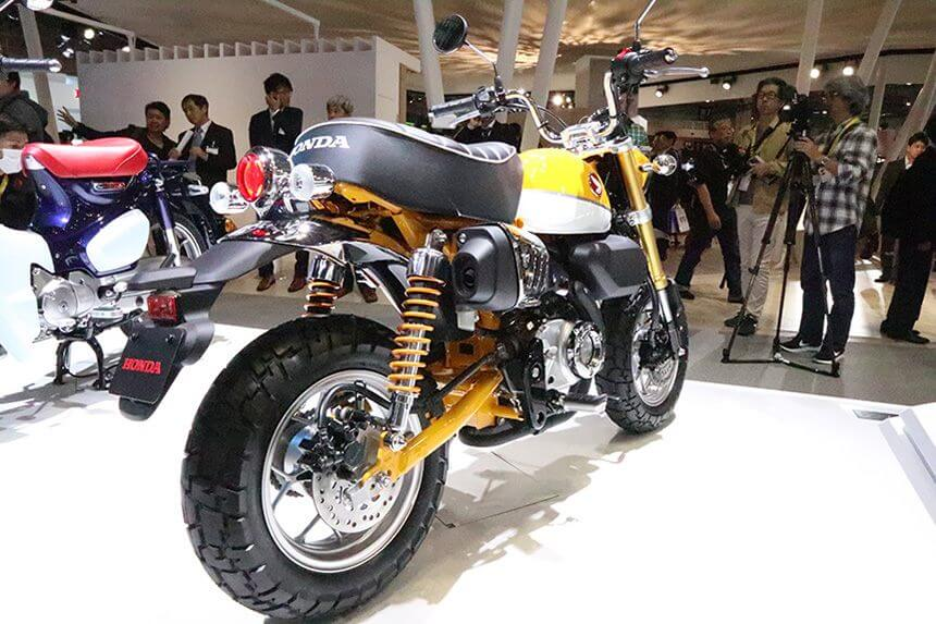 2019 honda monkey 125 concept motorcycle joining grom in. Black Bedroom Furniture Sets. Home Design Ideas