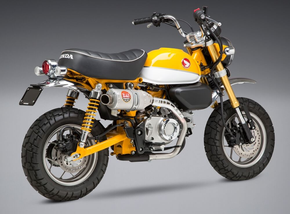 2019 honda monkey 125 exhausts yoshimura dyno sound. Black Bedroom Furniture Sets. Home Design Ideas