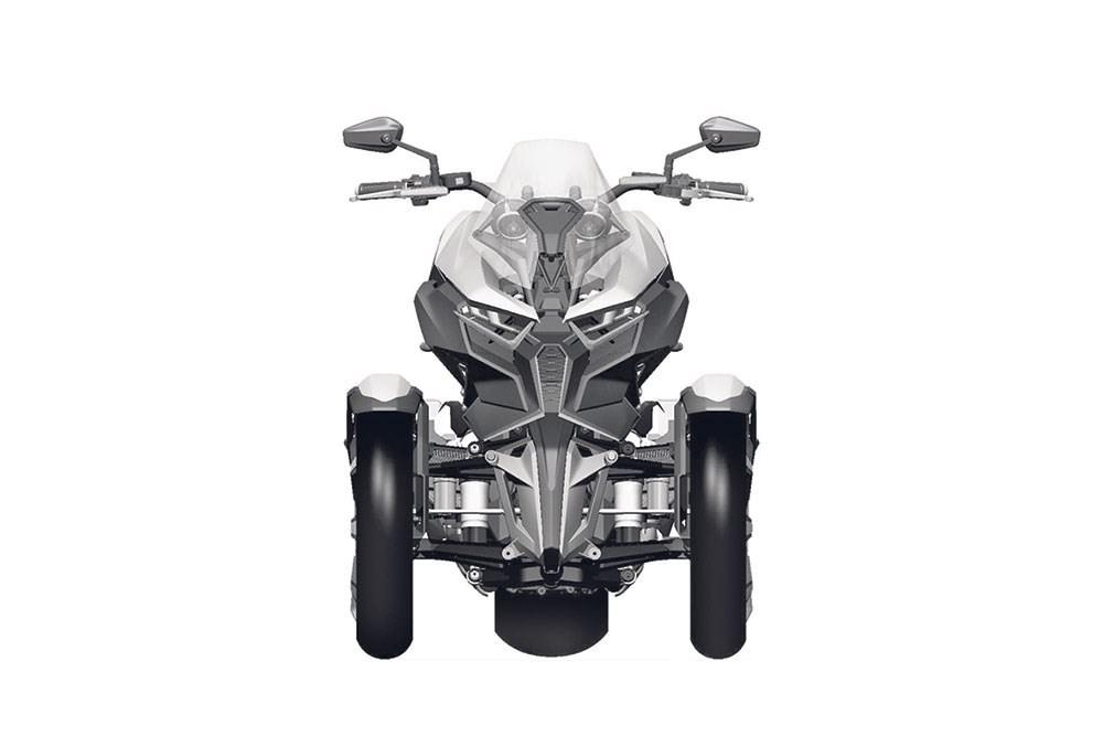 NEW 2017 - 2018 Honda NEOWING 3-Wheel Motorcycle / Reverse Trike - Concept / Prototype Bikes