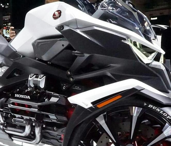 Honda Neo Wing New 2017 Trike 3 Wheel Motorcycle Goldwing Cousin Honda ...