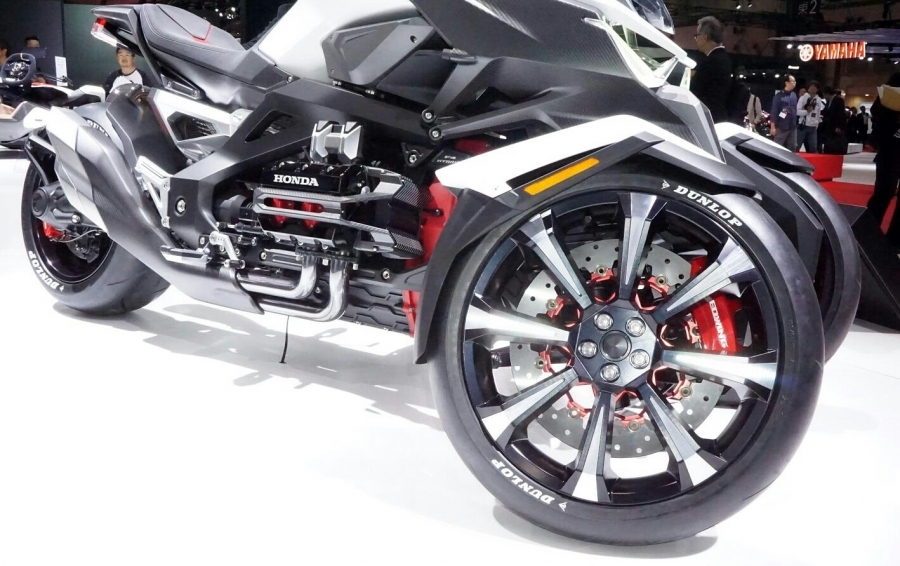 Honda Neo Wing New 2017 Trike 3 Wheel Motorcycle Goldwing