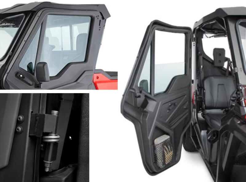 New Honda Pioneer 1000 1000 5 Hard Front Doors Released