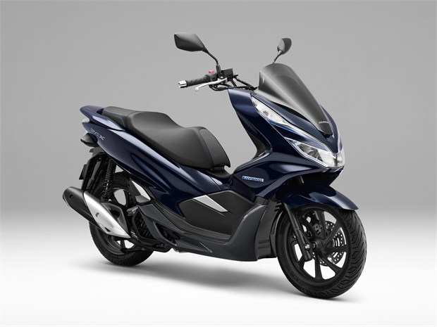 2019 honda pcx electric hybrid scooters coming to the for Honda motor scooters usa