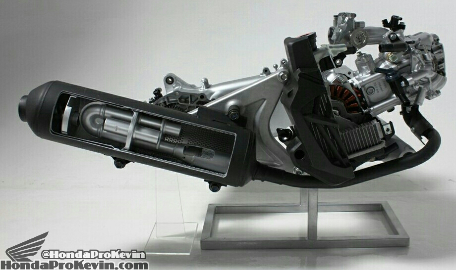 Exhaust System AKRAPOVIC Honda Forza Nss 300