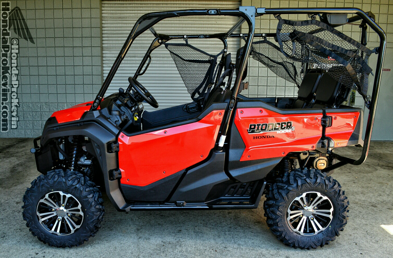 What Is A Side By Side >> 2016 Pioneer 1000 5 Drive Review All New Honda Side By