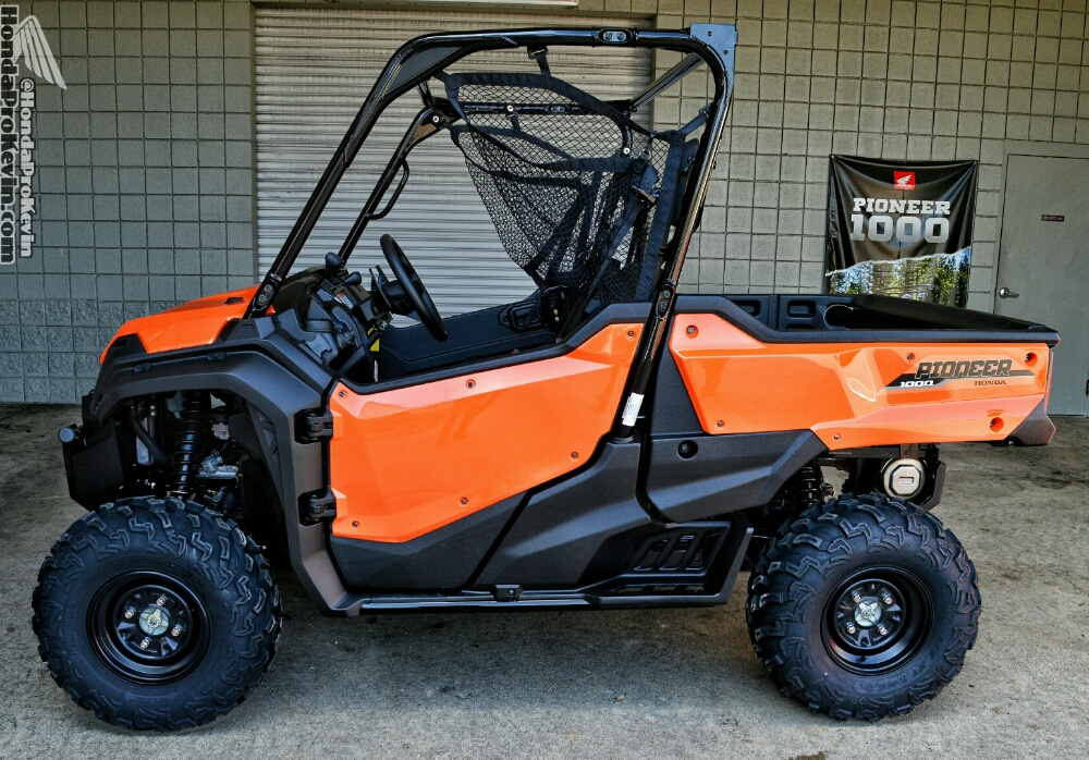 2016 Honda Pioneer 1000 EPS Orange Review / Specs - Side by Side ATV / UTV / SxS / Utility Vehicle - HP Performance Info