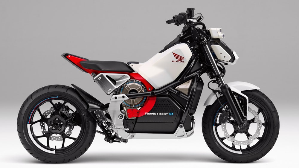 2019 Electric Motorcycles From Honda Self Balancing Say What