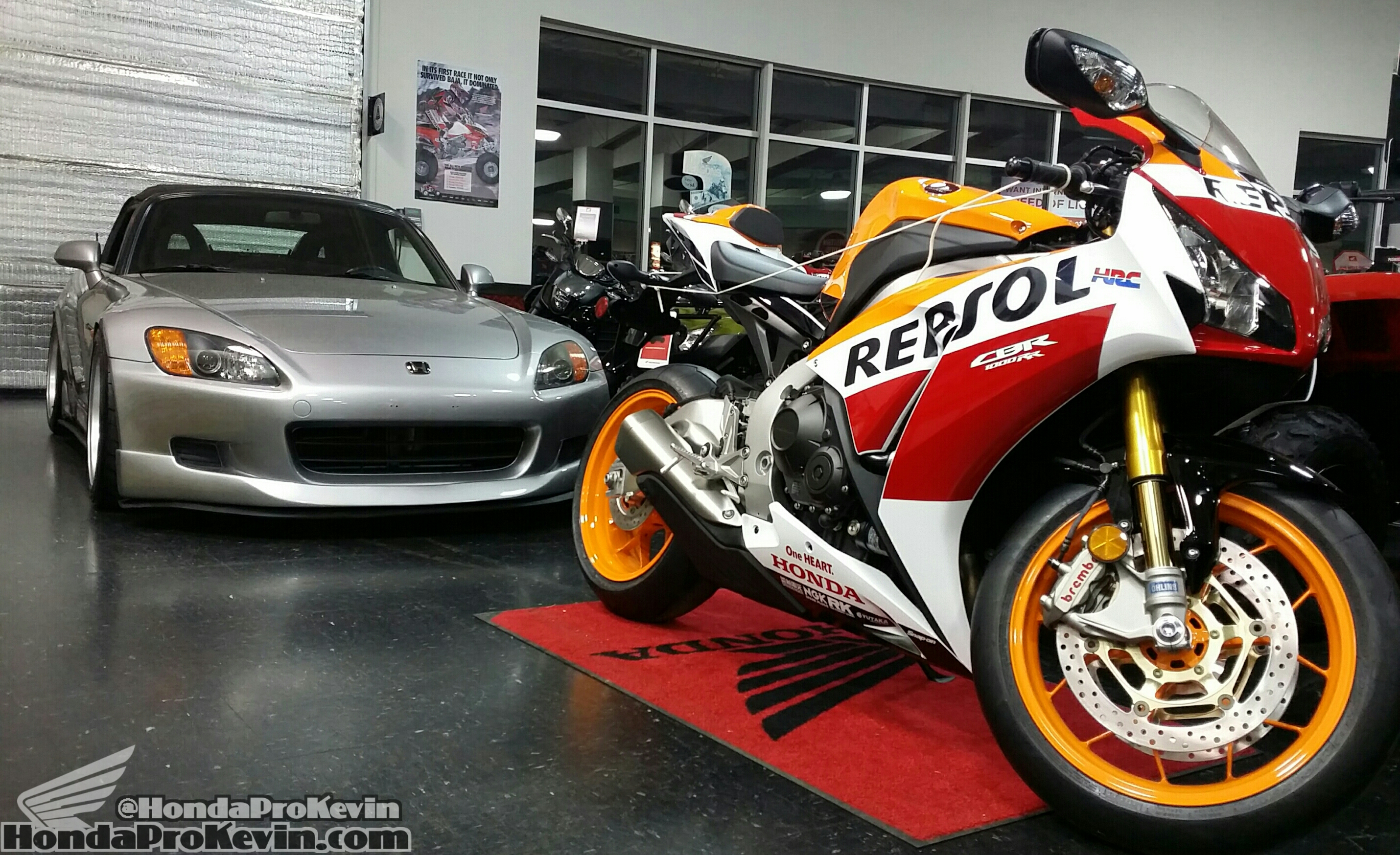 2016 Honda CBR SP Repsol & Custom S2000 AP1 Mods List