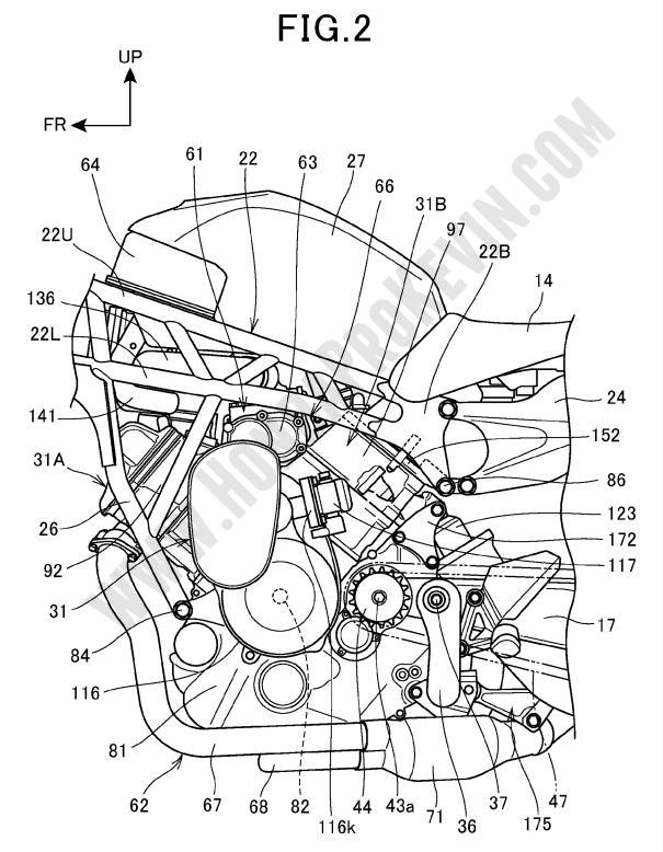Index Of Picturessupercharged Motorcycle Patents