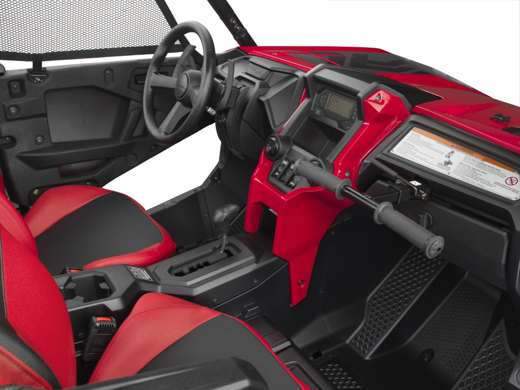 2019 Honda Talon 1000R Interior / Seats / Inside Cabin