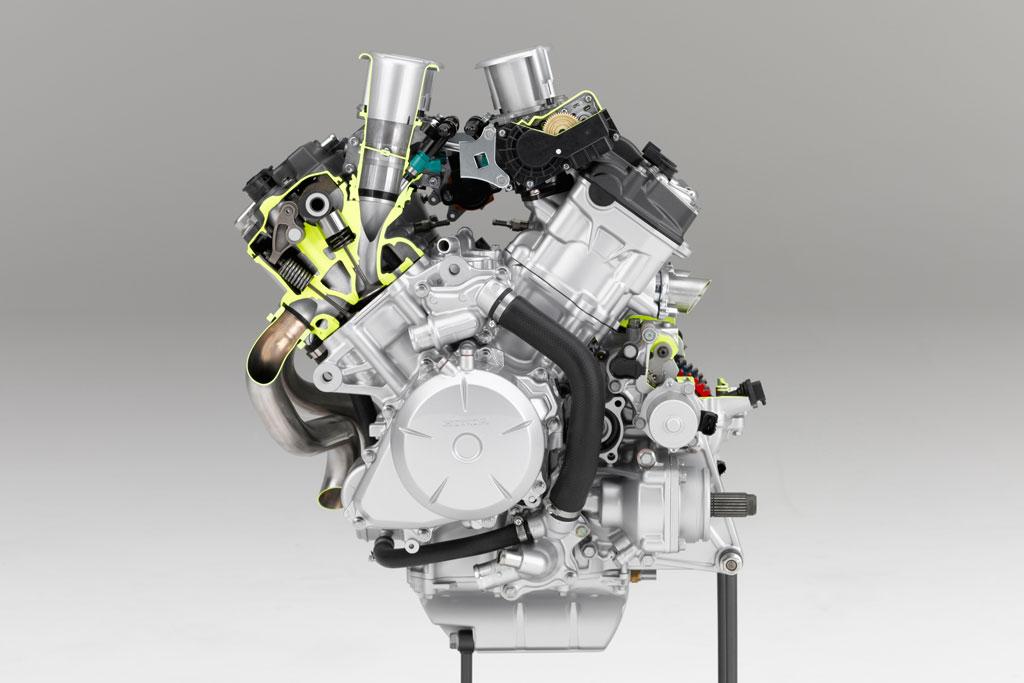 2016 Honda VFR1200X V4 Engine Horsepower / VFR1200