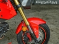 Custom Honda Grom MSX Wave Brake Rotors EBC Galfer