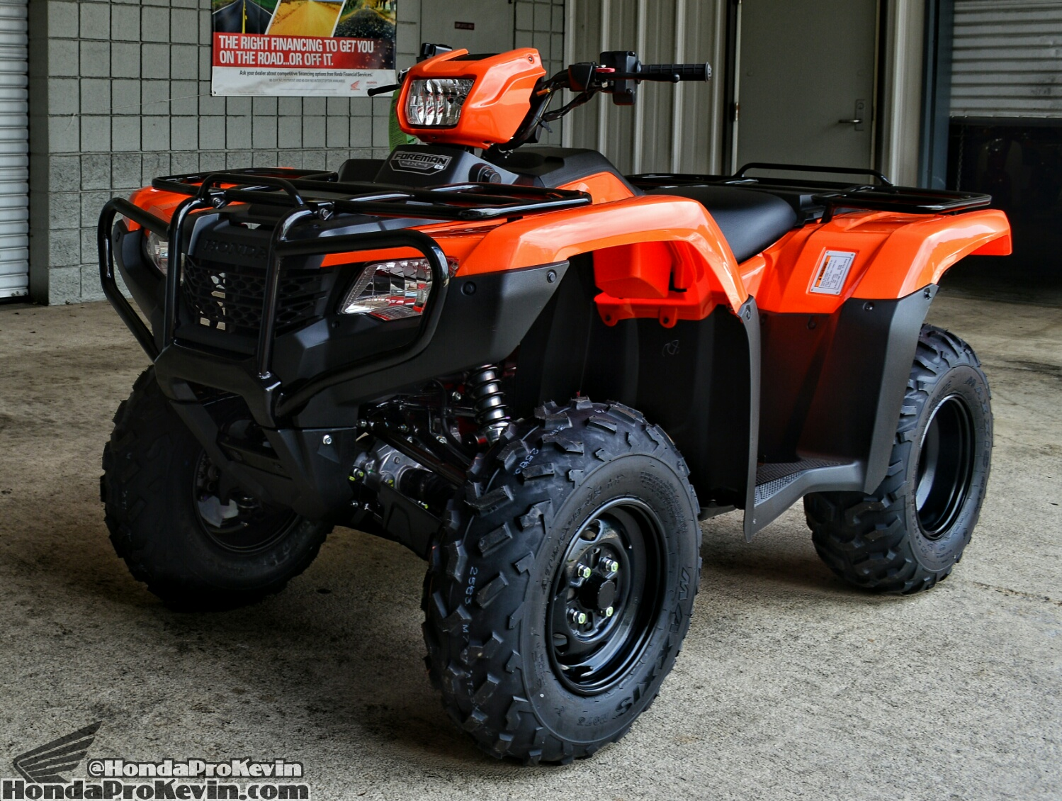 2018 Honda Foreman 500 ATV Review / Specs - Horsepower / Price / Four Wheeler / 4x4 Quad - TRX500