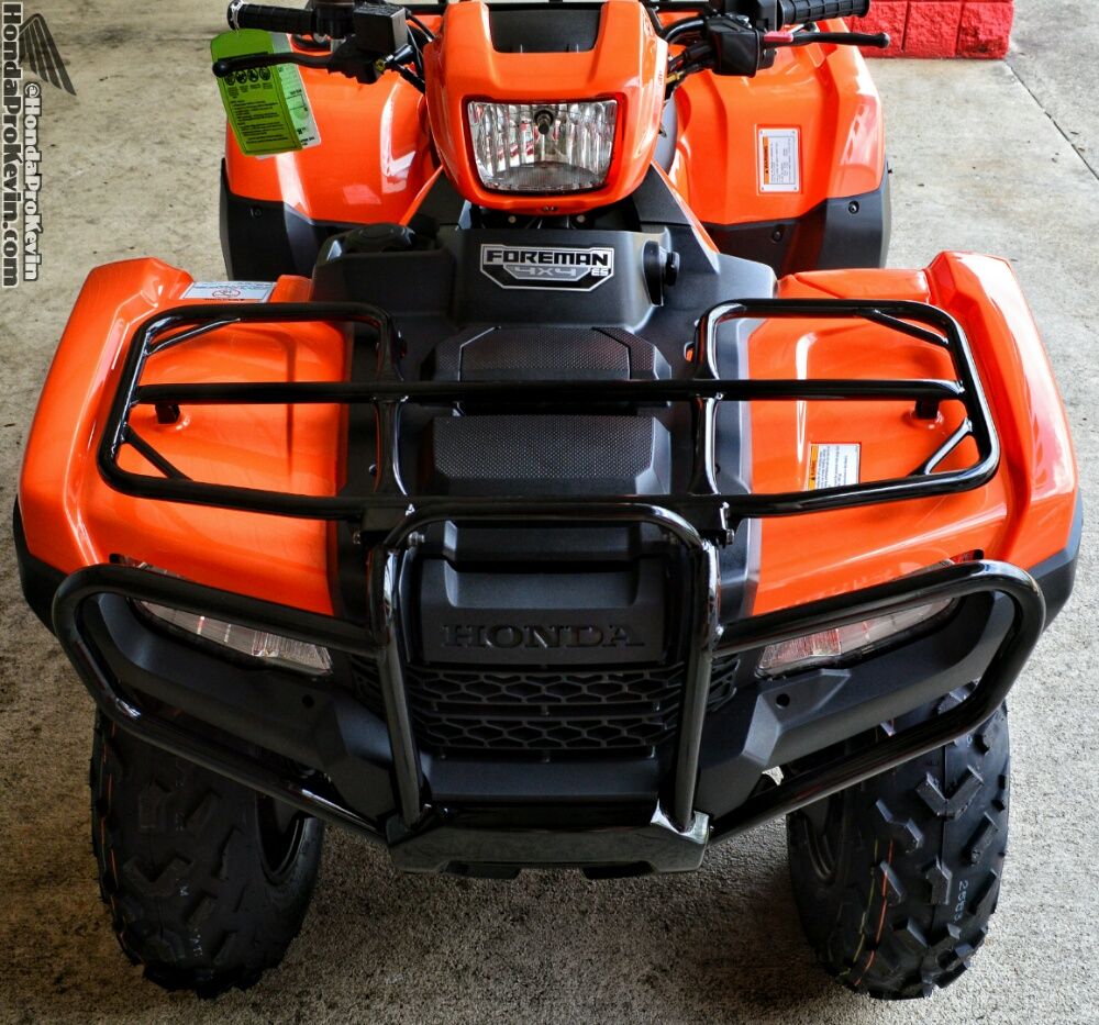 2016 Honda Foreman vs Rubicon ATV - Differences / Comparison