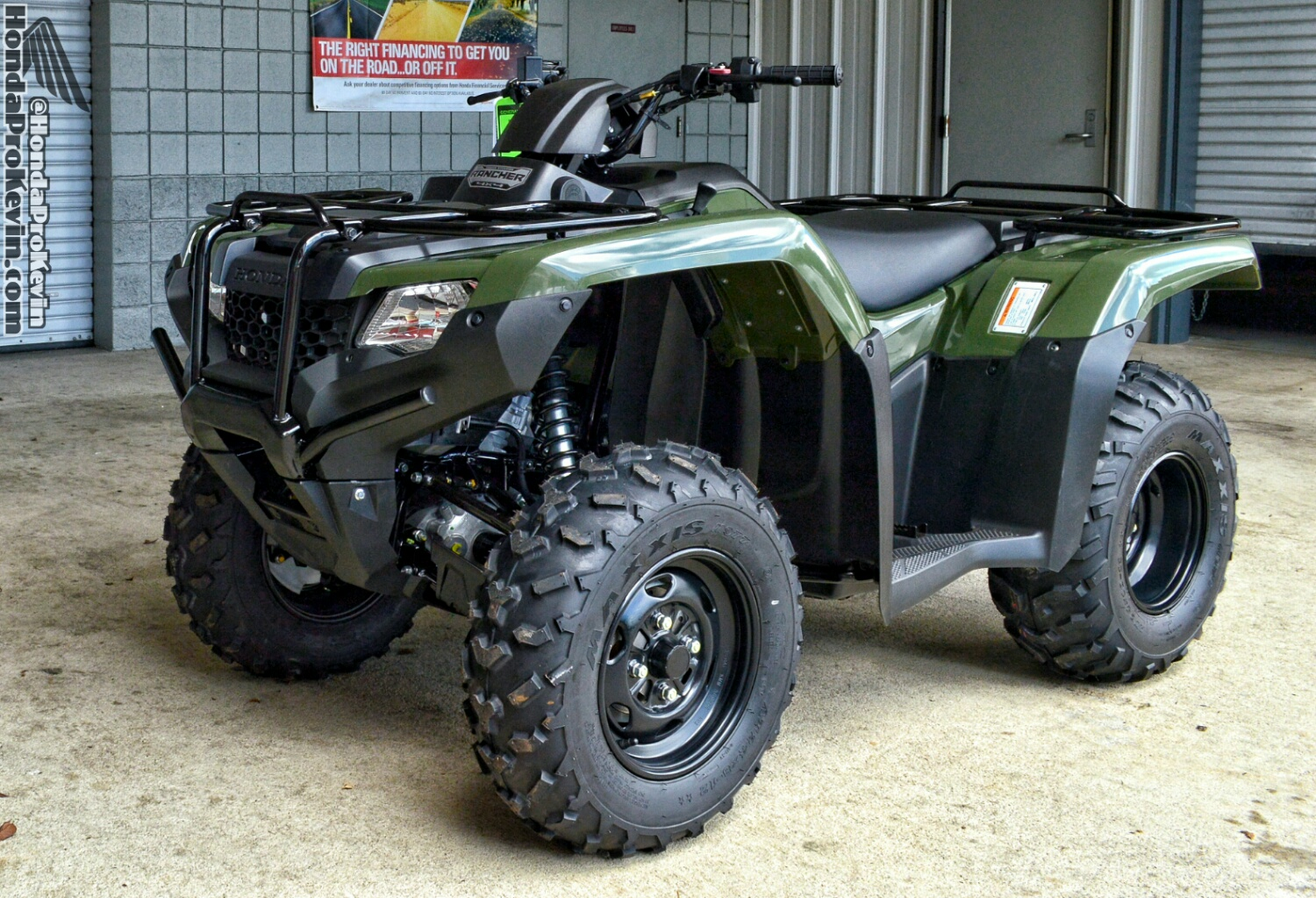 2017 Honda Rancher 420 Es Atv Review Specs Trx420fe1