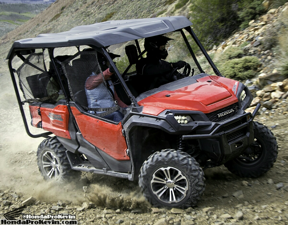official 2016 honda pioneer 1000 1000 5 price side by side atv utv sxs news honda. Black Bedroom Furniture Sets. Home Design Ideas