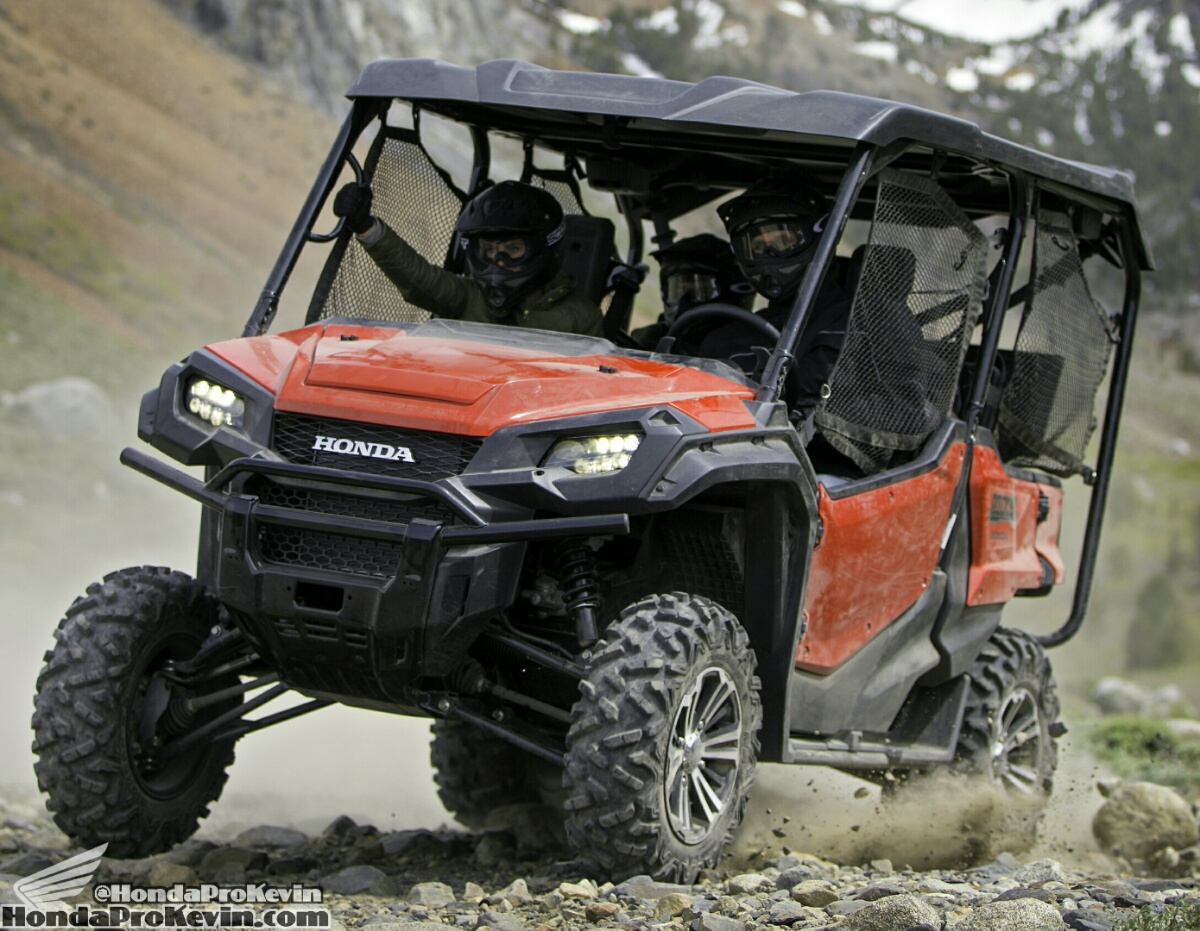2017 Honda Pioneer 1000 5 Review Specs Hp Performance Price Side