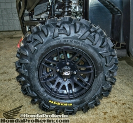 Honda Pioneer 1000 ITP SS wheels Blackwater tires - UTV / Side by Side ATV / SxS / Utility Vehicle 4x4