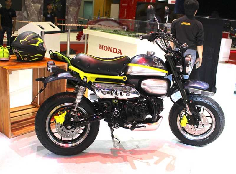 Honda Monkey 125 Concept Bike / Motorcycle - Mini Trail