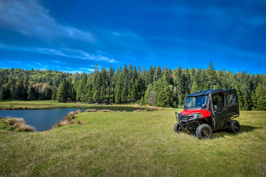 2018 Honda Pioneer 700-4 Review / Specs & Discount Accessories + Parts - Side by Side ATV / UTV / SxS Utility Vehicle