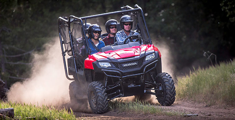 2016 Honda Pioneer 700-4 Review - Specs - Side by Side / UTV / SxS / ATV - SXS700 M4