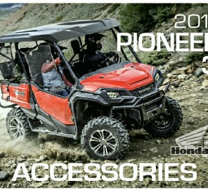 2016 Honda Pioneer 1000 Accessories Review - Side by Side / UTV / SxS / ATV - SXS1000 Pioneer Parts Honda Genuine Accessory Catalog